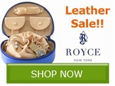 Royce Leather Gift Sale!! Save Now!!