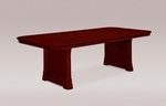 Rue De Lyon 8' Rectangular Conference Table - Ruby Cabernet [7684-96A-FS-DMI]
