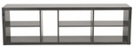 Ryn Shelving Unit in Gray [09820GRY-FS-ERS]