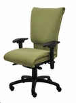 Saddle 400 Series Medium Back Multiple Shift Quick Set Back Height Task Chair [SA311-Q32-FS-SEA]