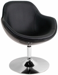 Saddlebrook Lounger in Black [CHR-SDLBRK-BK-FS-LUMI]