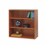 Safco® Apres Open Bookcase - Three-Shelf - 29-3/4w x 11-3/4d x 29-3/4h - Cherry [SAF9440CY-FS-NAT]