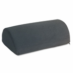 Safco® Half-Cylinder Padded Foot Cushion,  Black [SAF92311-FS-NAT]