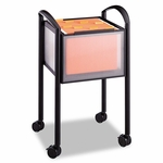 Safco® Impromptu Open File Cart - 20-1/4 x 19 x 29-3/4 - Black [SAF5375BL-FS-NAT]