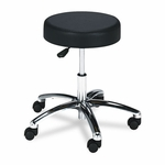 Safco® Pneumatic Lift Height-Adjustable Lab Stools,17-22,Black [SAF3431BL-FS-NAT]