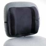 Safco® Remedease High Profile Backrest - 123/4w x 4d x 13h - Black [SAF71491-FS-NAT]