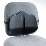 Safco® Softspot Low Profile Backrest,13-1/2''W x 3''D x 11''H,Black [SAF7151BL-FS-NAT]