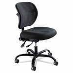 Safco® Vue Intensive Use Mesh Task Chair,  Polyester Seat,  Black [SAF3397BL-FS-NAT]