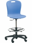 Sage Series Drafting Stool [SGLAB-VCO]