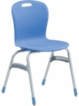 Sage Series Stack Chair with 19''H Seat - 20.38''W x 33.5''H [SG419-VCO]