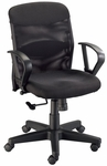 Salambro Jr. Mesh Back Height Adjustable Chair - Black [CH724-FS-ALV]