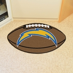 San Diego Chargers Football Mat 22'' x 35'' [5850-FS-FAN]