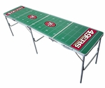 San Francisco 49ers 2'x8' Tailgate Table [TPN-D-126-FS-TT]