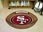 San Francisco 49ers Football Mat 22'' x 35'' [5835-FS-FAN]