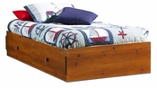 Sand Castle Collection Twin Mates Bed (39'') Sunny Pine