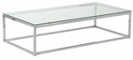 Sandor Coffee Table in Clear Glass [28031-FS-ERS]