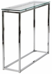 Sandor Console Table in Clear Glass [28033-FS-ERS]