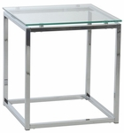 Sandor Side Table in Clear Glass [28032-FS-ERS]