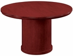 Saratoga 42'' Round Conference Table - Pinot Cherry [7140-89-FS-DMI]