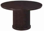 Saratoga 48'' Round Conference Table - Mocha [7141-90-FS-DMI]