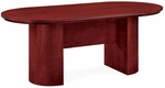 Saratoga 6' Racetrack Conference Table - Pinot Cherry [7140-72-FS-DMI]