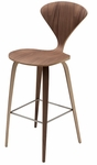 Satine Am Walnut Bar Stool in Walnut [HGEM354-FS-NVO]