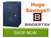Save 10% Off Select Bindertek Solutions Products!!