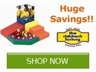 Huge Savings on select Children's Factory by