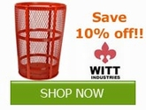 Save 10% off on select Witt Industries Product!!