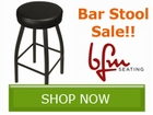Save up to 10% off select bar stools from BFM by