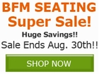 Save 10% off select BFM Seating Products!! Save by
