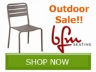 BFM Seating Outdoor Table and Chair Sale!! Save by
