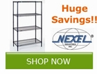 Save 10% off select Nexel Industries Products!! Save by