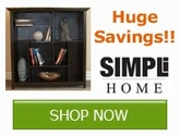 Save on Simpli Home Storage Products Now!!