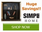 Save on Simpli Home Storage Products by