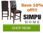 Save 10% off on Simpli Home Products!! Save by