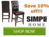 Save 10% off on Simpli Home Products!! Save Now!!