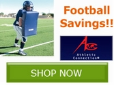 Athletic Connection Football Savings Specials!! Save Now!!