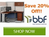 Save 20% off Select Items from Bush Business Furniture!!