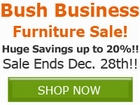 Save up to 20% off Select Bush Business Furniture by
