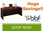 Huge savings on select Bush Business Furniture by