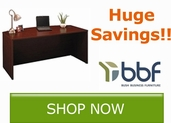 Huge savings on select Bush Business Furniture Products!!