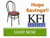 Save 5% now on KFI Seating!!!