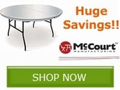 Save BIG on all your Banquet Furniture needs!! Save Now!!
