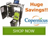 SAVE 65% on select models of Copernicus Tech Tub Carts!