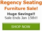 Save BIG on select Regency Furniture by