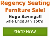 Save BIG on select Regency Furniture Products!!