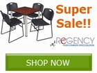 Regency Seating Super Sale!! Save by