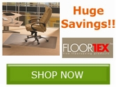 Save now on select Floortex Chair Mats!!