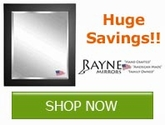 Save now on select mirrors from Raybe Mirrors!!